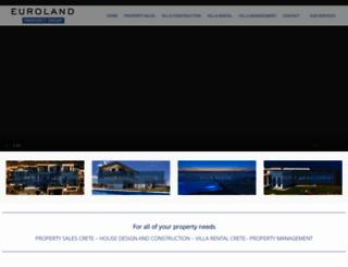 euroland-crete.com screenshot