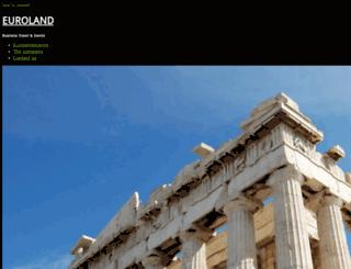 eurolandevents.gr screenshot