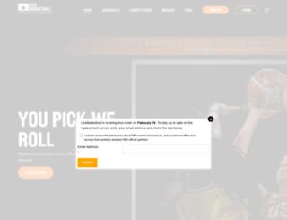 euroleague.livebasketball.tv screenshot