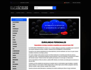 eurolineas-personales.com screenshot