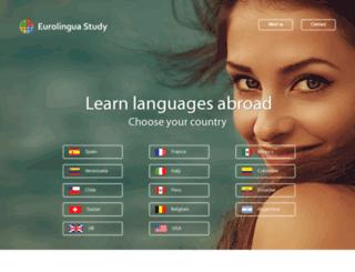 eurolinguaidiomas.com screenshot