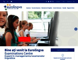 eurolingva.ro screenshot