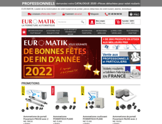 euromatik.fr screenshot