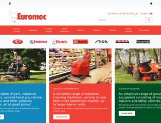 euromec.co.uk screenshot