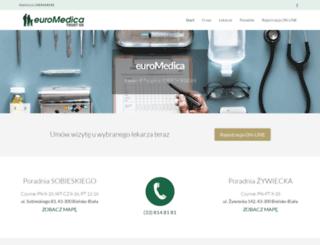 euromedica.com.pl screenshot