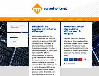 eurominority.eu screenshot