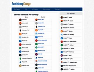 euromoneychange.com screenshot