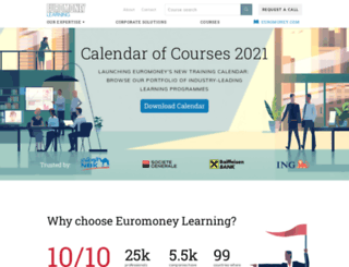 euromoneylearningsolutions.com screenshot