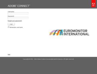 euromonitorint.adobeconnect.com screenshot