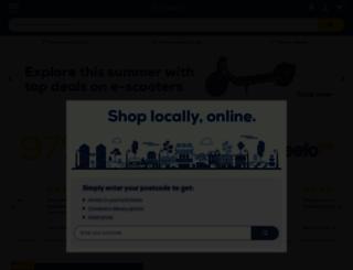 euronics.co.uk screenshot
