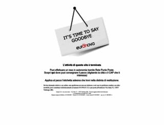 euronova-italia.it screenshot