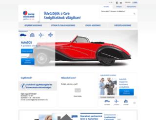 europ-assistance.hu screenshot
