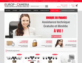 europ-camera.fr screenshot