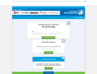 europa.autostrada-a2.pl screenshot