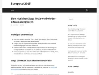 europacat2015.com screenshot