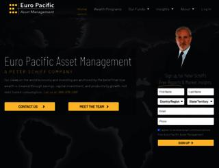 europacfunds.com screenshot