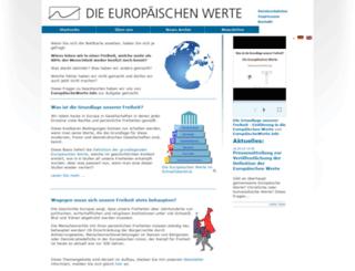 europaeischewerte.info screenshot
