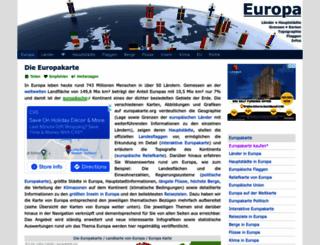 europakarte.org screenshot
