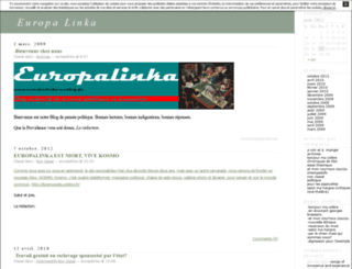 europalinka.unblog.fr screenshot