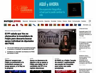 europapress.es screenshot