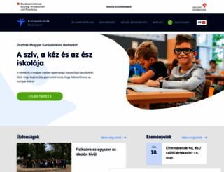 europaschule.hu screenshot