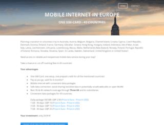 europasim.weebly.com screenshot
