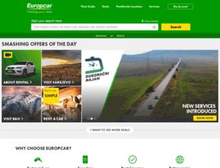 europcar.ba screenshot