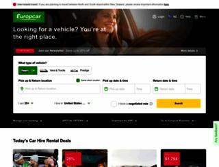 Access Europcar Co Nz Car Rental Van Hire Europcar New Zealand