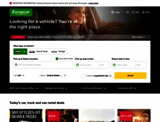 europcar.com.au screenshot