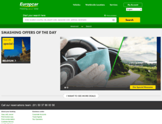 europcar.jp screenshot