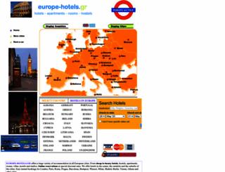 europe-hotels.gr screenshot