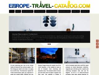 europe-travel-catalog.com screenshot