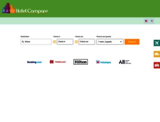 europe.easyhotelcompare.com screenshot