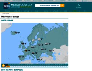 europe.meteoconsult.fr screenshot
