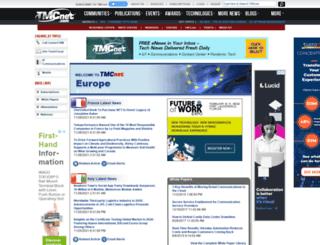 europe.tmcnet.com screenshot