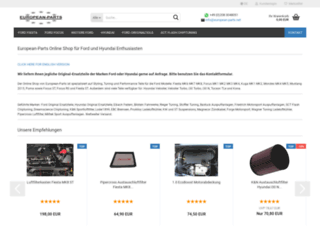 european-parts.net screenshot