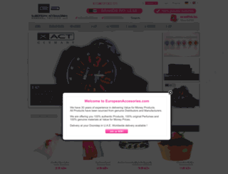 europeanaccessories.com screenshot