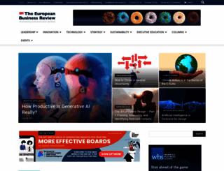 europeanbusinessreview.com screenshot