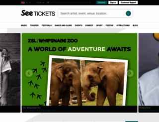 europeantour.seetickets.com screenshot
