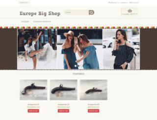 europebigshop.com screenshot