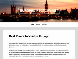 europedirectory.net screenshot