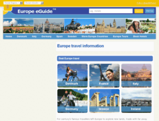 europeeguide.com screenshot