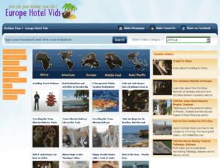 europehotelvids.com screenshot