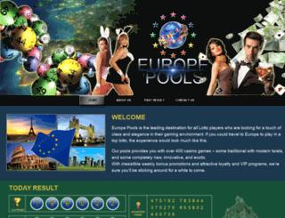 europepools.com screenshot