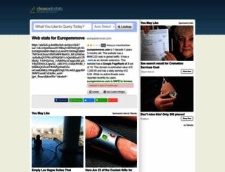 europeremove.com.clearwebstats.com screenshot