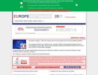 europesoftwares.net screenshot