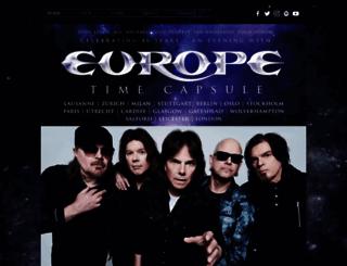 europetheband.com screenshot