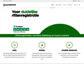 europetrack.eu screenshot