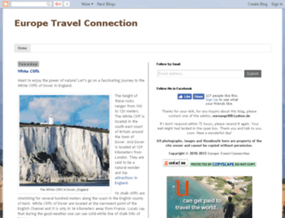 europetravelconnection.com screenshot
