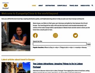 europeupclose.com screenshot